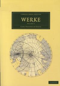 Carl Friedrich Gauss - Werke - Volume 9.