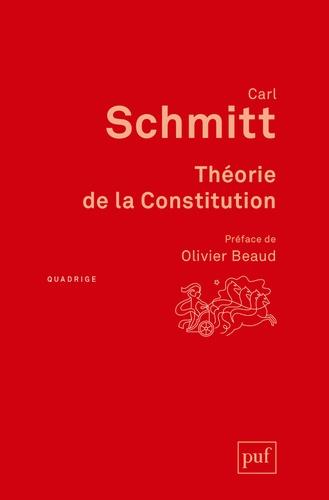 Carl Schmitt - Théorie de la Constitution.
