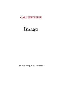 Carl Spitteler - Imago.