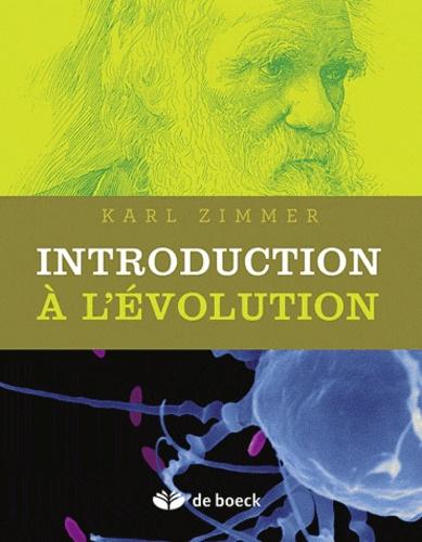 Introduction à l'évolution. Ce merveilleux bricolage