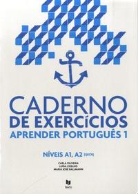 Carla Oliveira et Luisa Coelho - Caderno de exercicios - Aprender português 1 Niveis A1, A2.