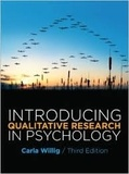 Carla Willig - Introducing Qualitative Research in Psychology.