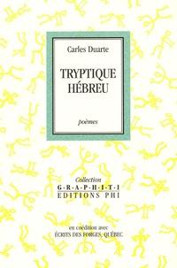 Carles Duarte - Triptyque hébreu.