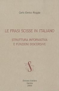 La frasi scisse in italiano - Struttura informativa e funzioni discorsive.pdf