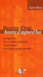 Carlo Moiso - Besoins d'hier, besoins d'aujourd'hui - Un regard sur les motivations profondes présentes dans les relations interpersonnelles.