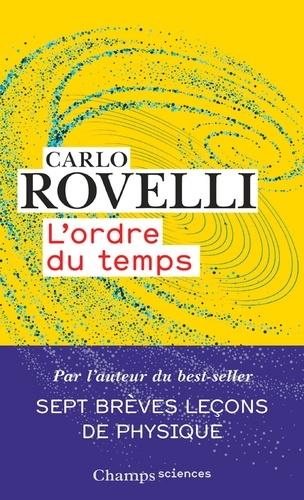 Carlo Rovelli L'ordre Du Temps
