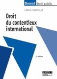 Carlo Santulli - Droit du contentieux international.