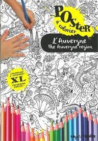 Carlos Da Cruz - L'Auvergne - Poster à colorier.