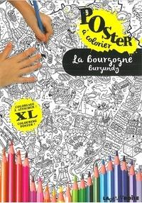 Carlos Da Cruz - La Bourgogne - Poster à colorier.
