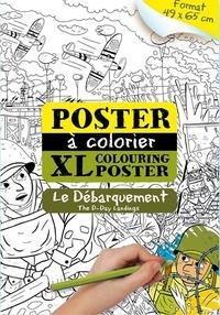 Carlos Da Cruz - Le débarquement - Poster à colorier XL.