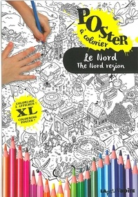 Carlos Da Cruz - Le Nord - Poster à colorier.