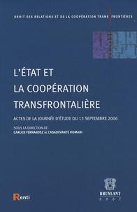 Carlos Fernandez de Casadevante - L'Etat et la coopération transfrontalière.