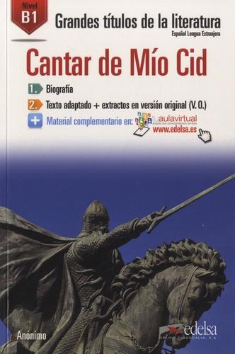 Cantar de Mio Cid. Nivel B1