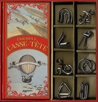 Carlton Books - Coffret énigmes & casse-tête extraordinaires - Avec 8 casse-têtes.