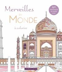 Carlton Books - Merveilles du monde à colorier.