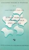 Carmel Camilleri et Claude Tapia - Jeunesse française et groupes sociaux après mai 1968 : enquête sur des populations universitaires et scolaires de Paris et de province.