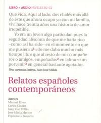 Carmen Aguirre - Relatos españoles contemporaneos. 1 CD audio