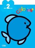Carmen Busquets - Le poisson - Coloriage dès 2 ans.