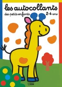 Carmen Busquets - Les autocollants des petits enfants 2-4 ans - Petite girafe.