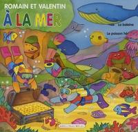 Carmen Busquets - Romain et Valentin à la mer.