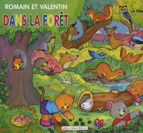 Carmen Busquets - Romain et Valentin dans la forêt.