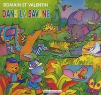 Carmen Busquets - Romain et Valentin dans la savane.