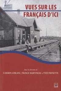 Carmen Leblanc - Vues sur le français d'ici.