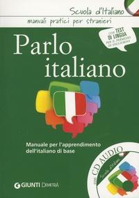 Carmen Lizzadro et Elvira Marinelli - Parlo italiano - Manuale per l'apprendimento dell'italiano di base. 1 CD audio