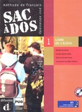 Carmen Martin Nolla et Dolorès Pastor - Sac à dos 1 Méthode de français pour adolescents - Livre de l'élève. 2 CD audio