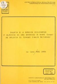 Carmen Munoz Zamora - Évaluation de la dépression socio-économique et délimitation des zones défavorisées en Navarre (Espagne) : une application des techniques d'analyse multivariable.