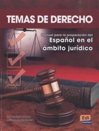 Carmen Rosa de Juan et José Antonio Fernandez - Temas de derecho - Libro del alumno.
