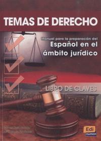 Carmen Rosa de Juan et José Antonio Fernandez - Temas de derecho - Libro de claves.