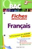 Carole Amsellem - Français 2de - Fiches détachables.