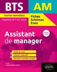 BTS Assistant de manager Toutes matières Programmes de 1re et 2e années - Annales corrigées.pdf