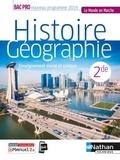 Carole Basile et Alain Brélivet - Histoire Géographie Enseignement moral et civique 2de Bac pro Le monde en marche.