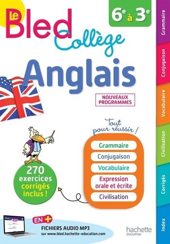 Anglais 6e A 3e Le Bled College Grand Format