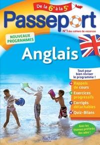 Carole Bonnet - Passeport Anglais de la 6e à la 5e.