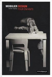 Carole Daprey et Pierre Gencey - Mobilier design pour enfants.