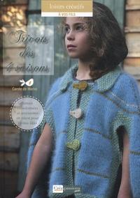 Carole de Marne - Tricots des 4 saisons - Tenues coordonnées et accessoires pour petites filles.