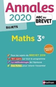 Mathématiques 3e- Sujets - Carole Feugère |