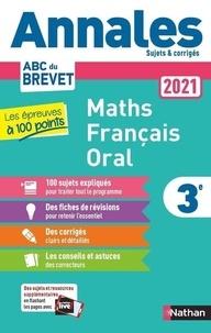Carole Feugère et Gilles Mora - Maths Français Oral 3e - Les épreuves à 100 points. Sujets & corrigés.