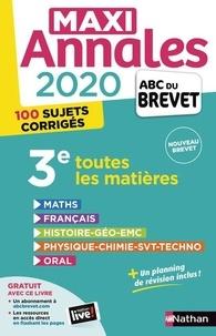Carole Feugère et Gilles Mora - Maxi Annales 3e - Avec 100 sujets corrigés.