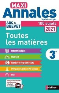 Carole Feugère et Gilles Mora - Maxi Annales 3e - Sujets & corrigés. Avec 100 sujets.