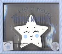 Carole Guermonprez - Tendres moments - Mon album de naissance - Avec une veilleuse en bois en forme d'étoile et 8 LED.