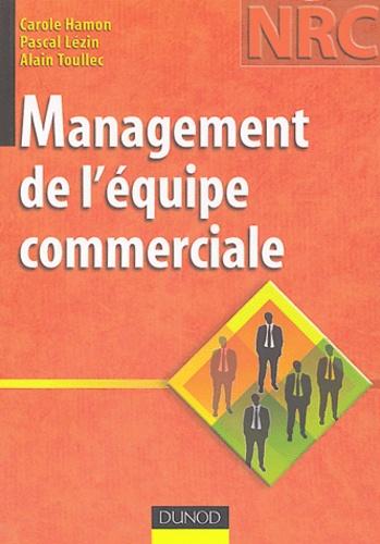 Carole Hamon et Pascal Lézin - Management de l'équipe commerciale.