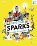 Carole Hellian et Carine Marty - Anglais 2de A2-B1 English Sparks.