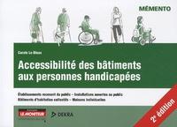 Carole Le Bloas - Accessibilité des bâtiments aux personnes handicapées.