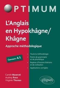 Epub ebook collection télécharger L'anglais en Hypokhâgne/Khâgne Concours A/L  - Approche méthodologique 9782340036888
