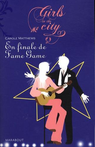 Carole Matthews - En finale de fame game.
