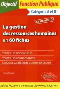 Era-circus.be La gestion des ressources humaines en 60 fiches - Catégories A et B Image
